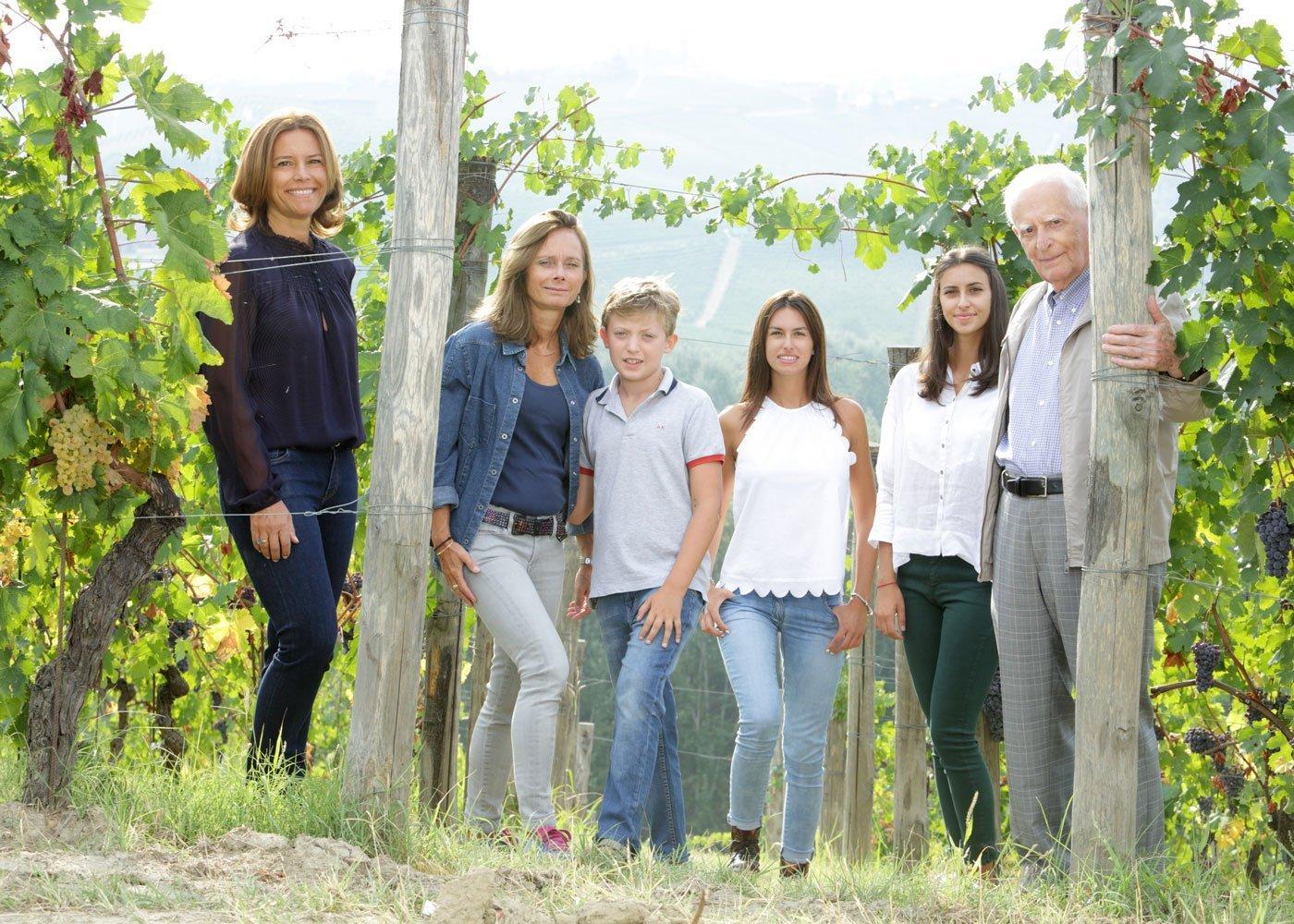 La famiglia Rinaldi al completo